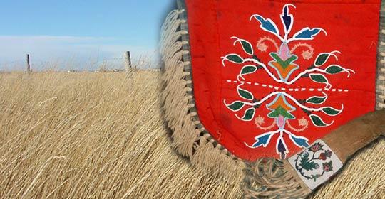 Traditional Kainai pieces. (Glenbow Museum. (2005). Nitsitapiisinni Exhibit. Calgary, Alberta: Blackfoot Gallery Committee)